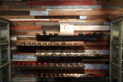 Get Outside – Barn Board Wall